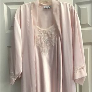 Vintage Christian Dior Robe and Slip
